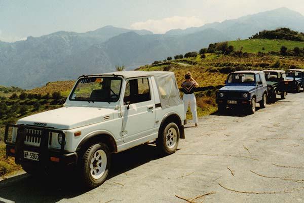 PALLAS-Seminare - Suzuki Jimny Teilnehmer-Tour auf Kreta